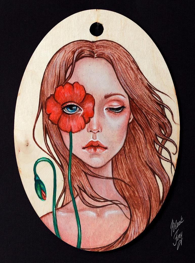 poppy by BlackFurya