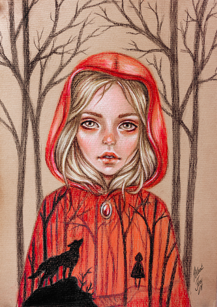 little red riding hood revisited In little red riding hood, a young girl and her grandmother are attacked by a wolf, seen in this 1870s illustration by alfred l sewell in the nra version, red wards off the wolf with a rifle.