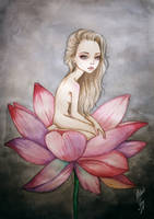 Thumbelina by BlackFurya