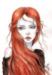 Wind in the fiery hair