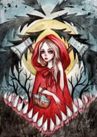Little Red Riding Hood by BlackFurya
