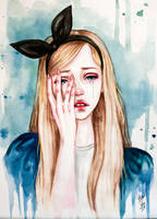 Alice cries by BlackFurya