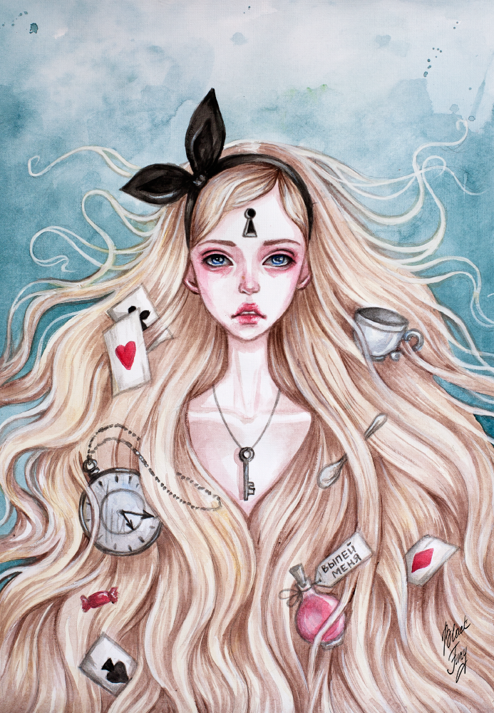 Alice by BlackFurya