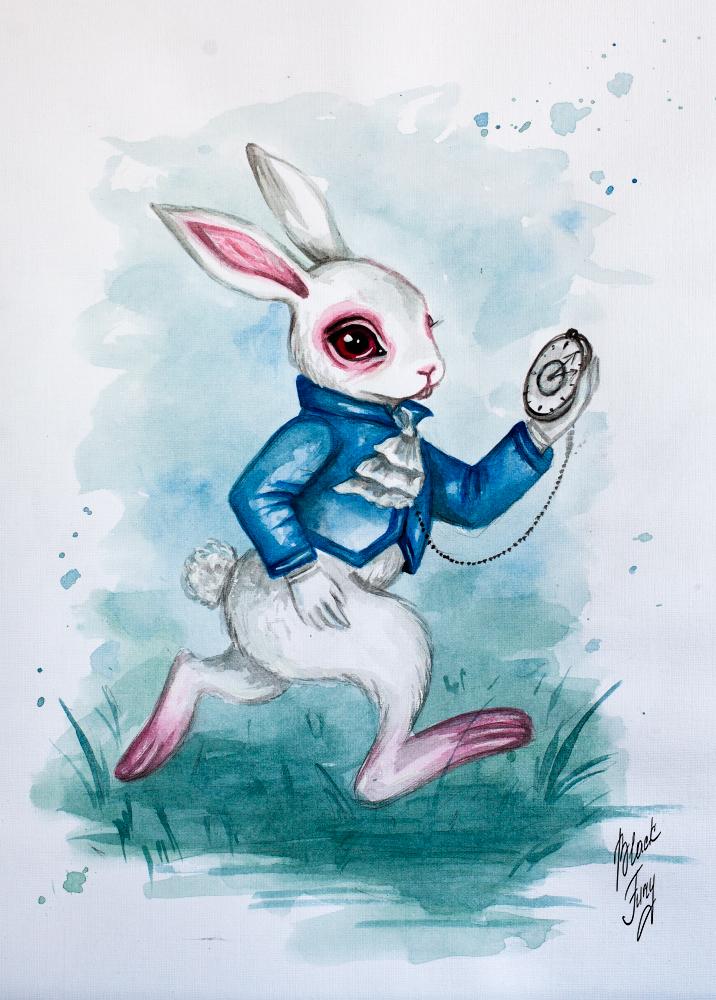 White Rabbit by BlackFurya
