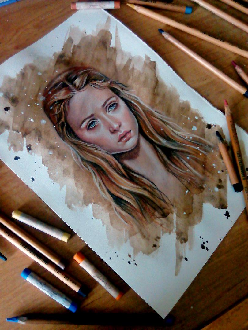 Sansa Stark by BlackFurya