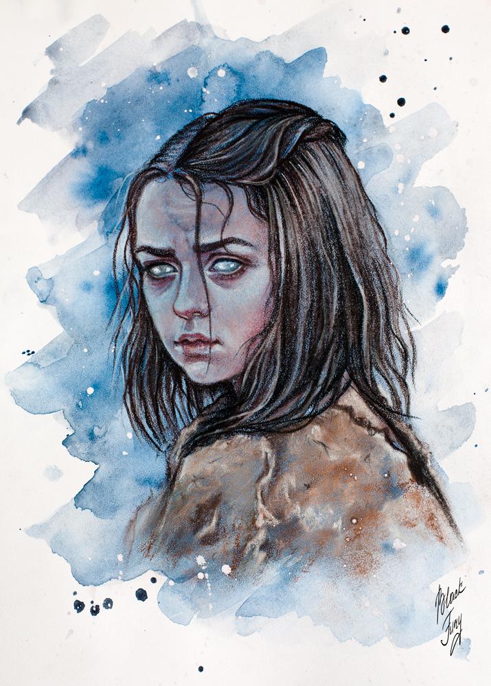 Arya Stark by BlackFurya