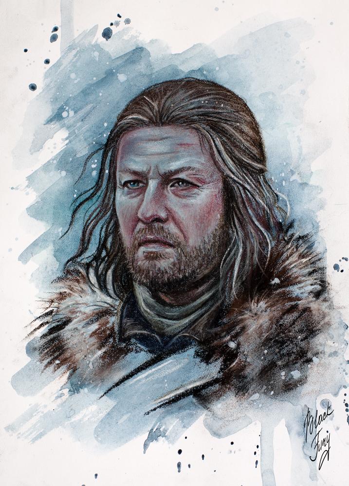 Eddard Stark by BlackFurya