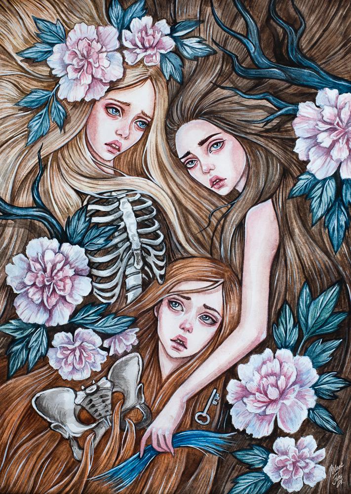 Wives of Bluebeard by BlackFurya