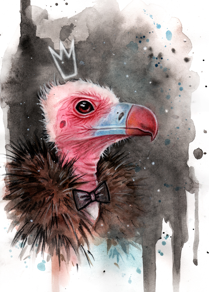 Vulture by BlackFurya