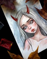 Little Devil by BlackFurya