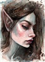 Elf by BlackFurya