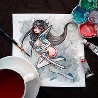 Kiryuin Satsuki (Kill la Kill) by BlackFurya