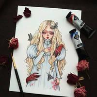 Edith Cushing (Crimson Peak) by BlackFurya