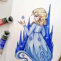 Elsa (Frozen 2) by BlackFurya