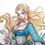 Princess Zelda (The legend of Zelda) by BlackFurya