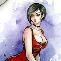 Ada Wong by BlackFurya