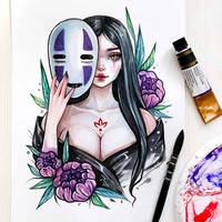 Kaonashi by BlackFurya