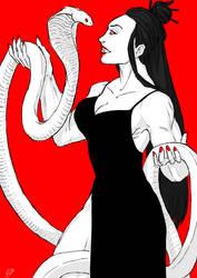 Buff Vampire Lady