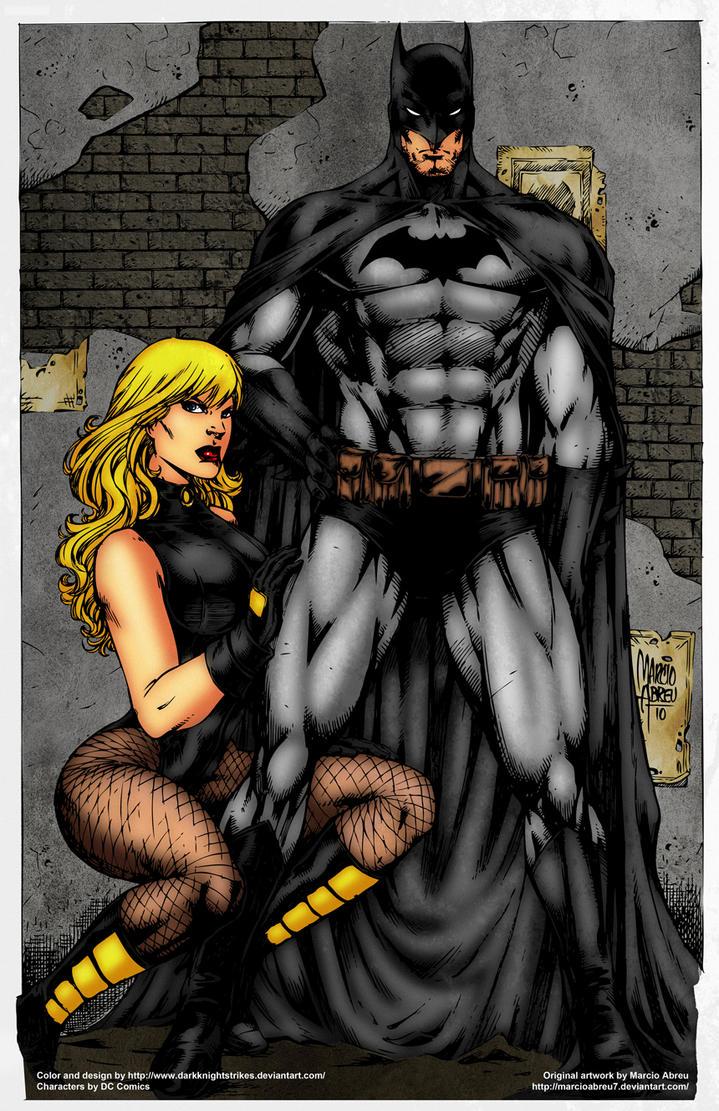 Zatanna and black canary kiss