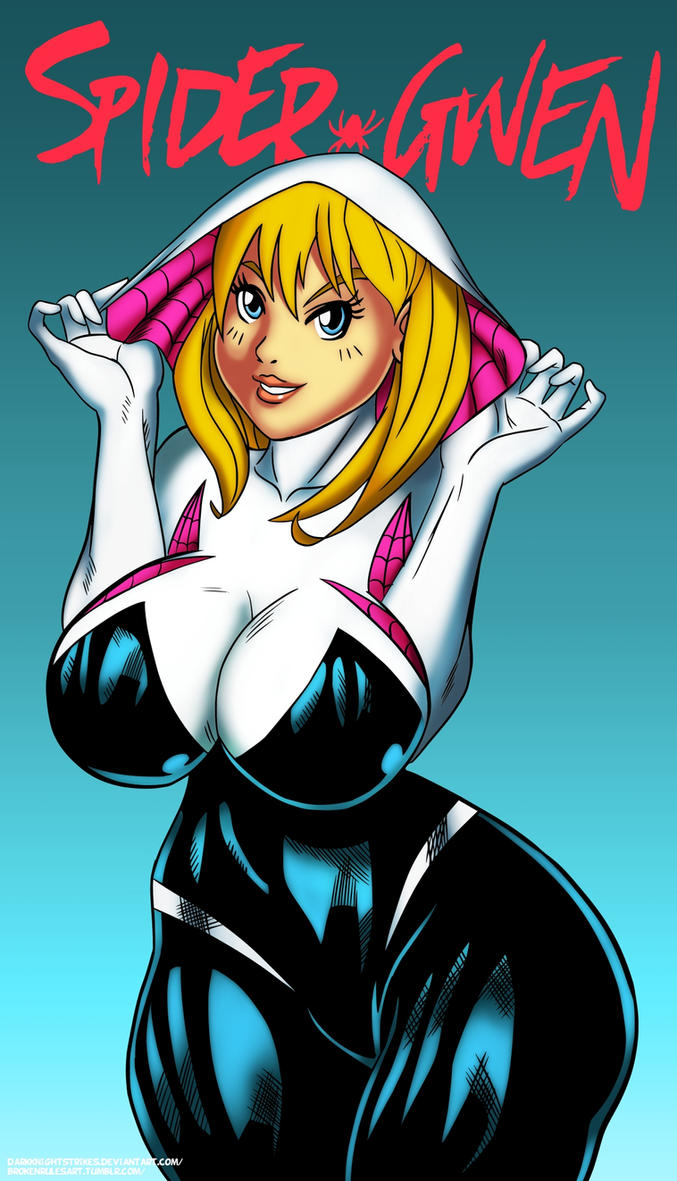 Spider-Gwen by darkknightstrikes