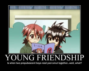Negima Young Friendship