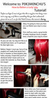 How to flatten a 'curly' wig, Tutorial!