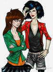 Daria and Jane colored