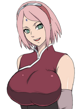 Sakura adult - Render