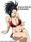 Yaoyorozu Momo in bikini