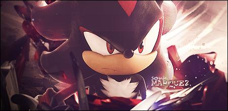 Shadow The Hedgehog Signature by wathefuk
