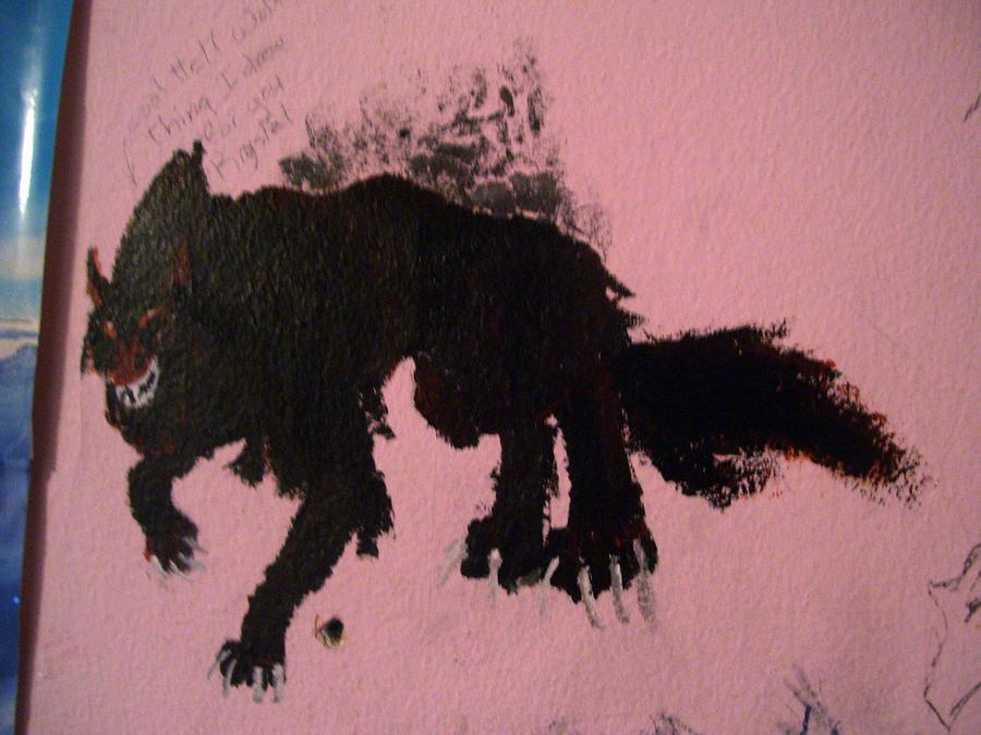 hell wolf by vampireassassin1444 - photo #16