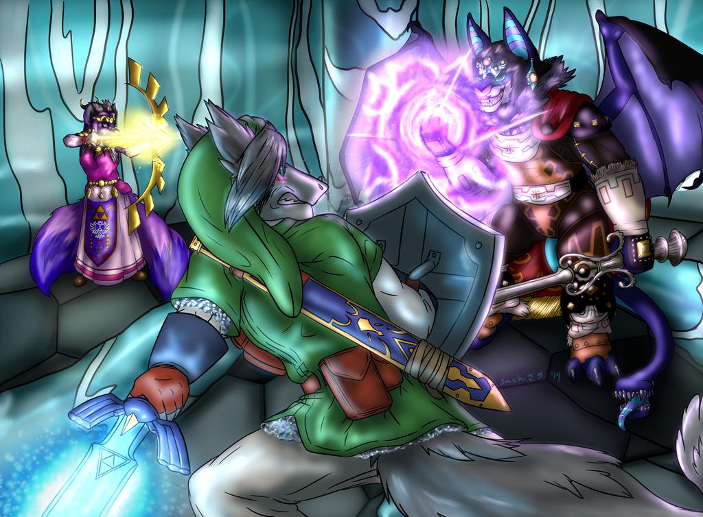 YCH: Final Boss Battle (LoZ) by EgyptianDragon1