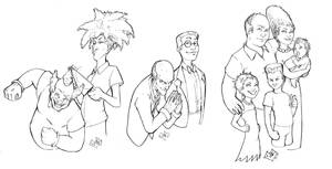 Simpsons drawings