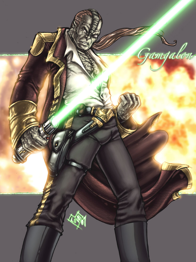Gamgalon Jedi Master by ComfortLove