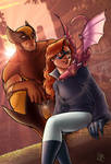 Wolverine and Shadowcat