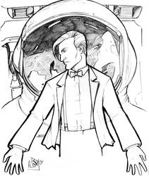 Eleventh Doctor and the Astronaut by ComfortLove