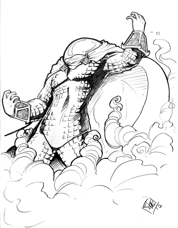 mysterio spiderman coloring pages - photo#23