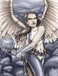 Hawk Girl Fan Emerald City 2013