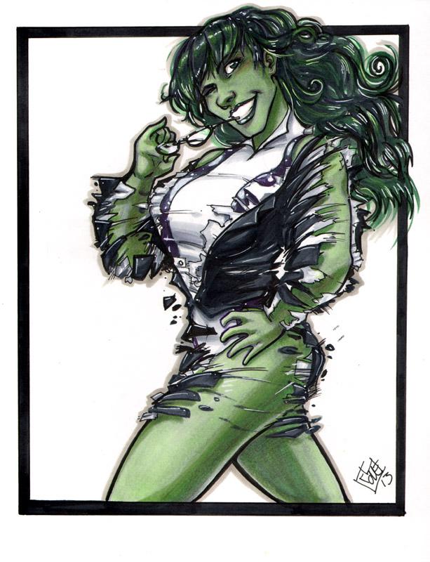 She Hulk C2E2 2013 by ComfortLove