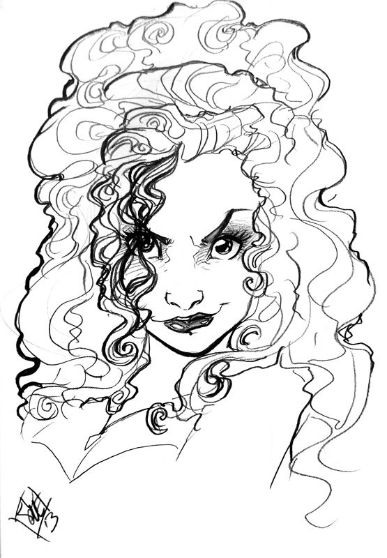 Bellatrix Lestrange NYCC 2013 by ComfortLove