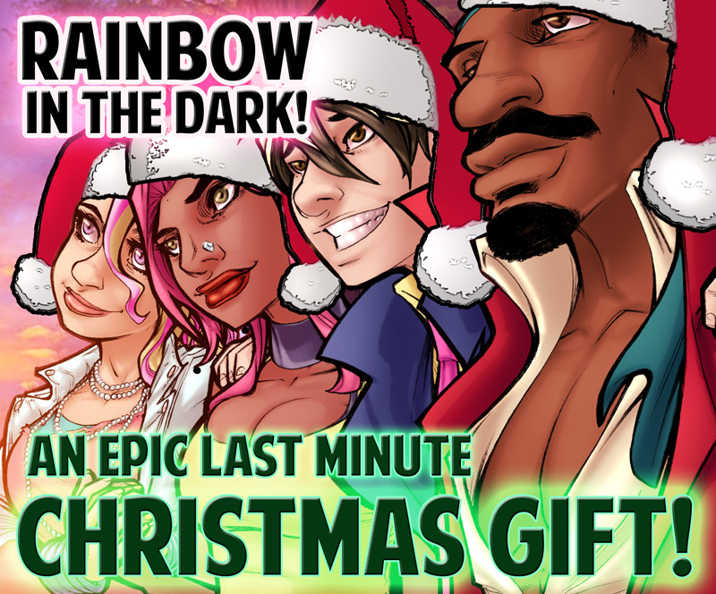 Rainbow in the Dark - an EPIC Christmas Gift! by ComfortLove