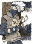 Kakashi and team 7: Copic Marker