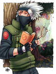 Kakashi And Team 7 digital color