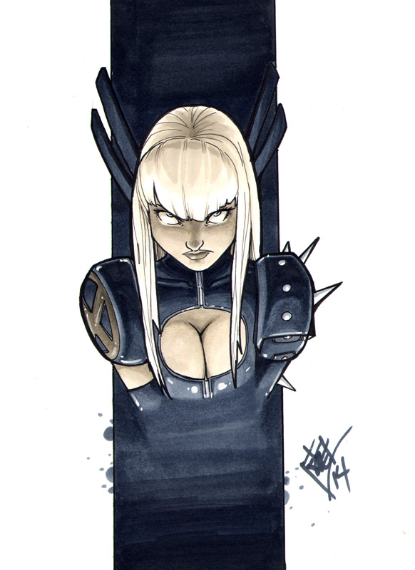 Magik headshot Heroes Con 2014 by ComfortLove
