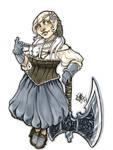 Miss Piggy inspired Dwarf OC Otakon 2014