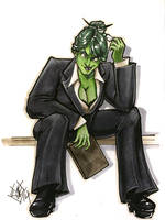 She Hulk Cincy Con 2014 by ComfortLove