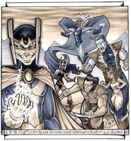 X-Men Asguard Dragon*Con 2014 by ComfortLove