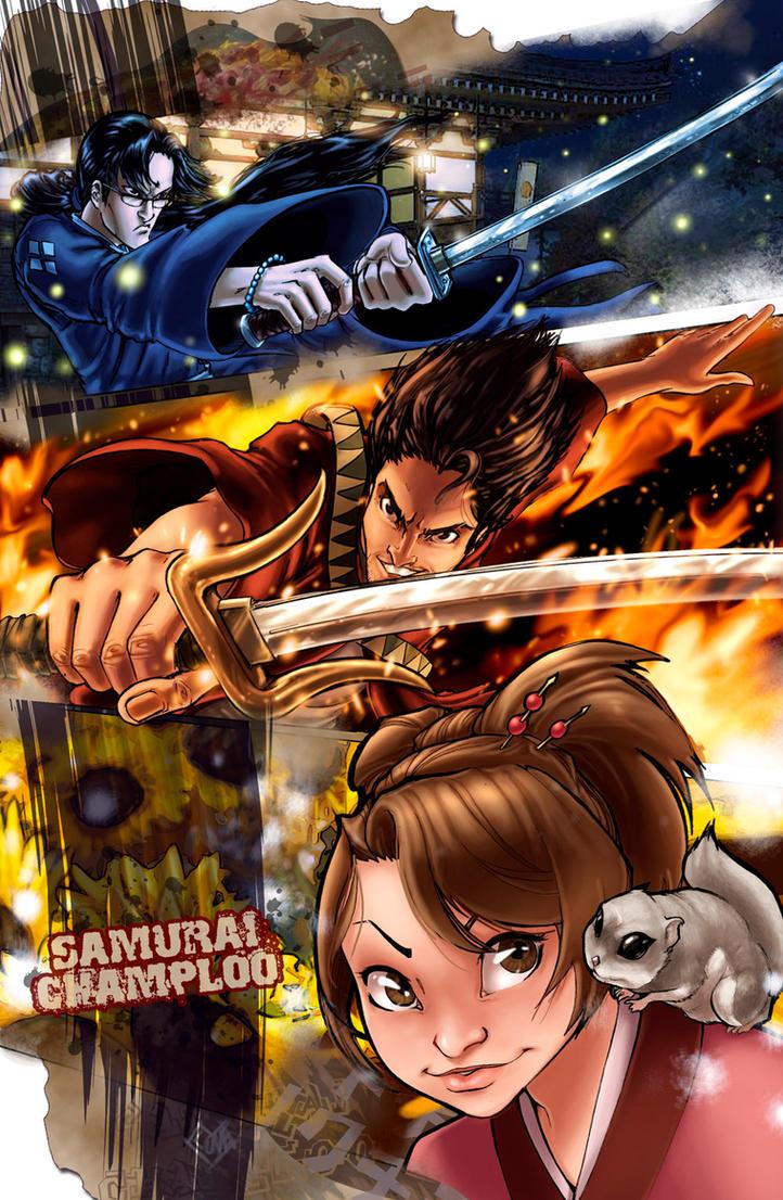Samurai Champloo v2 by ComfortLove