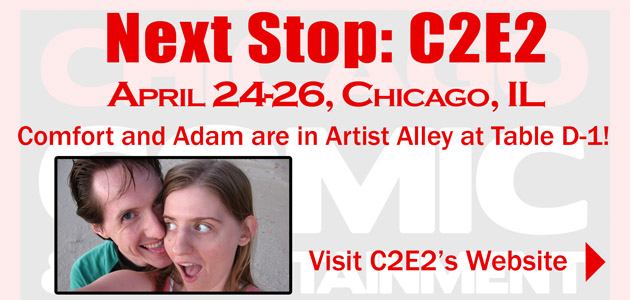 C2E2 2015 Artist Alley Placement by ComfortLove