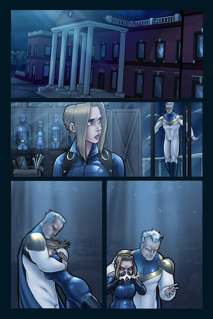 The Uniques Expanded Director's Cut #2 page 17 by ComfortLove